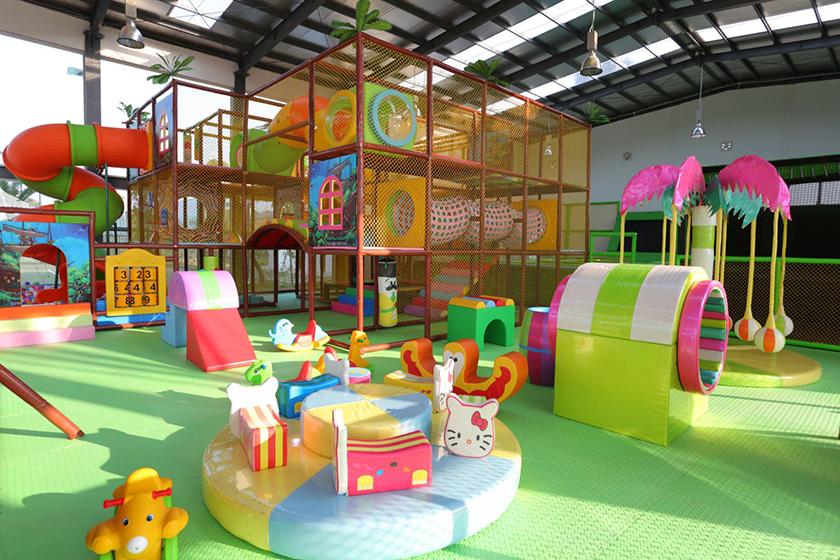 Khu vui chơi trẻ em trong nhà tại FLC Vĩnh Phúc