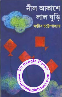 Neel Akashe Lal Ghuri by Sanjib Chattapadhay