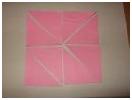 「折り紙で三角パズル~無限のひろがりを感じました」モンテッソーリ,幼児教育,子育て,