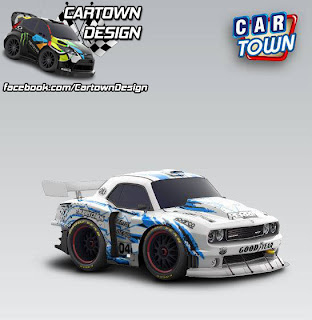Dodge SRT Challenger Race Edition 2014 Cartown Design