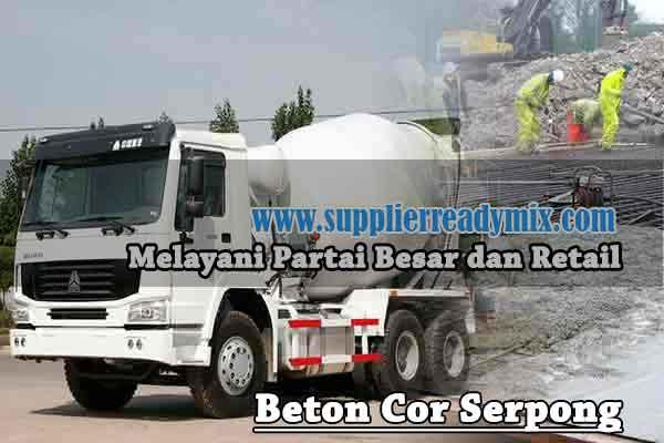 Harga Beton Ready Mix Serpong