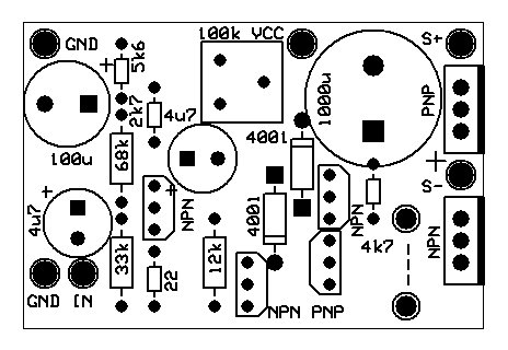 2 5w Audio Amplifier With Transistors One Transistor