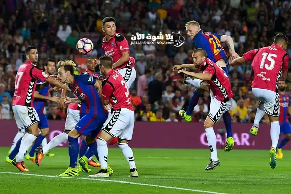 مباراة برشلونة وديبورتيفو الافيس اليوم