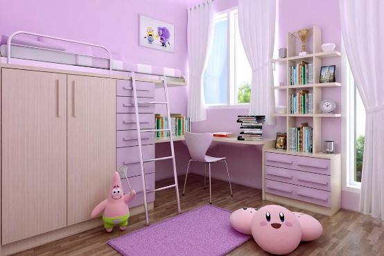 Tips Mengatasi Ruang Kamar Anak yang Terbatas