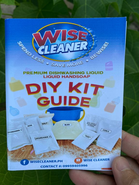Wise Cleaner DIY Kit guide