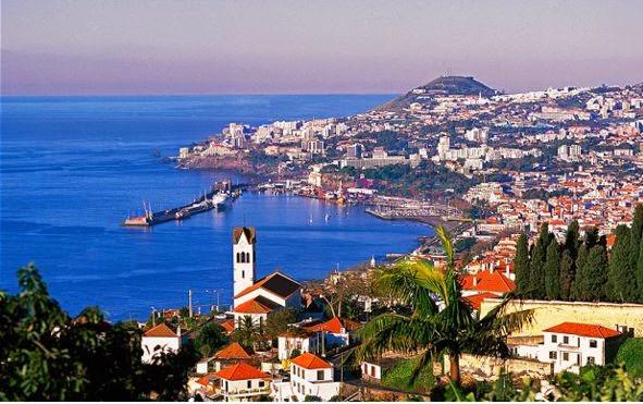 Ciudad de Funchal es la capital de la Isla de Madeira