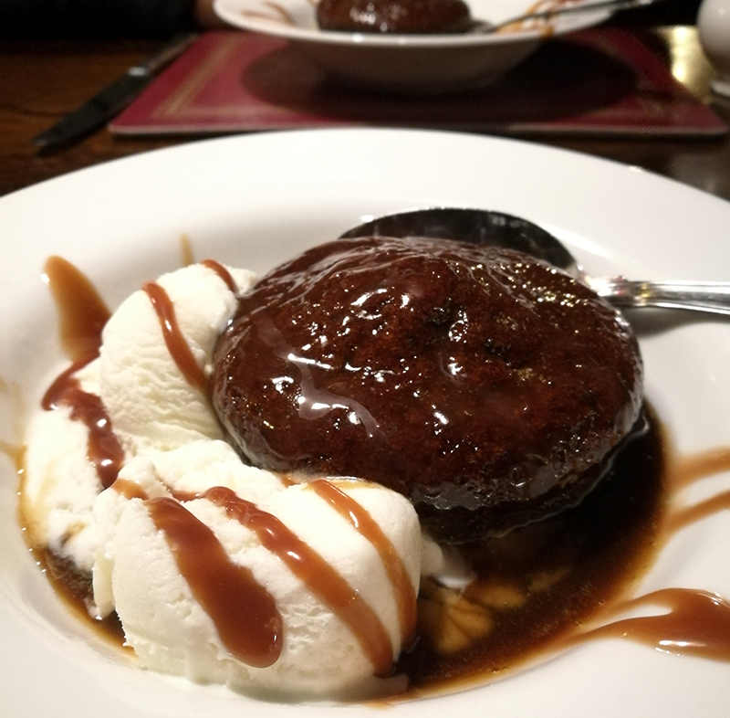 String of Horses Carlisle Sticky Toffee Pudding