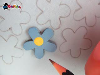 fiori fai da te in gomma crepla
