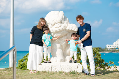 沖縄 家族写真 海 出張カメラマン