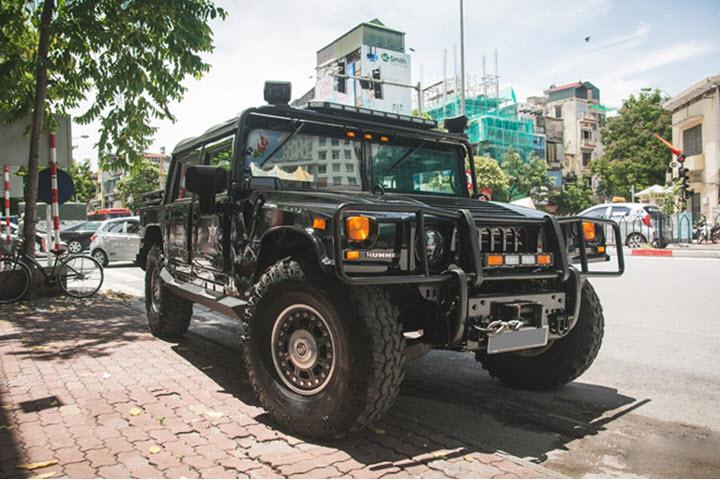 Khám phá Hummer H1 Alpha độc nhất Việt Nam