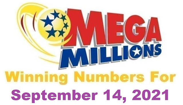 Mega Millions Winning Numbers for Tuesday, September 14, 2021