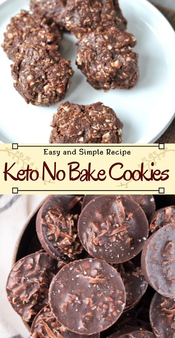 Keto No Bake Cookies #vegan #vegetarian #soup #breakfast #lunch