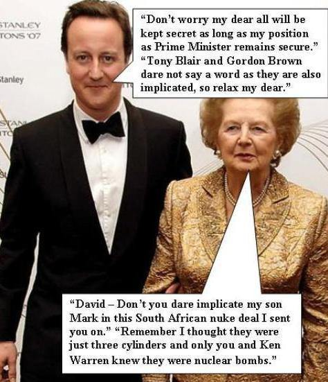 David Cameron, War Criminal