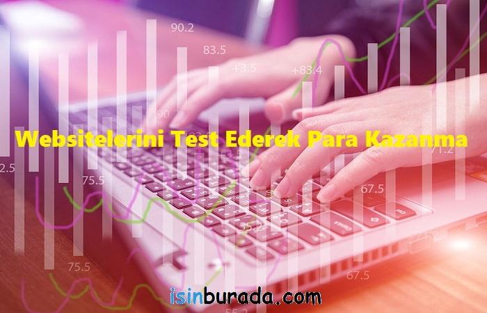 Websitelerini Test Ederek Para Kazanma