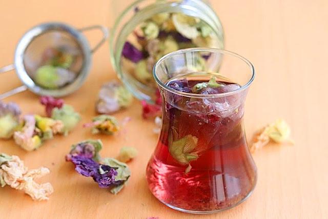 Hatmi Tomurcuk Çiçeği Çayı-Oksuruk kuru, cayi