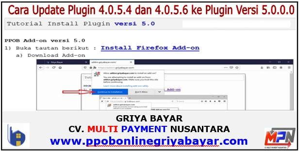 Cara Update Plugin 4.0.5.4 dan 4.0.5.6 ke Plugin Versi 5.0.0.0