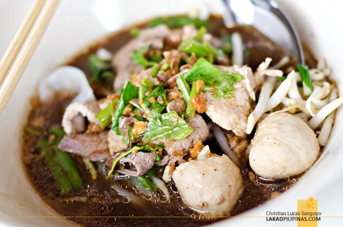 Keaw Tiew Numtok Noodles Pai Thailand
