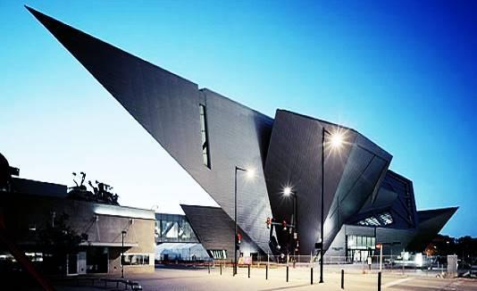 Desain bentuk museum paling aneh dan unik