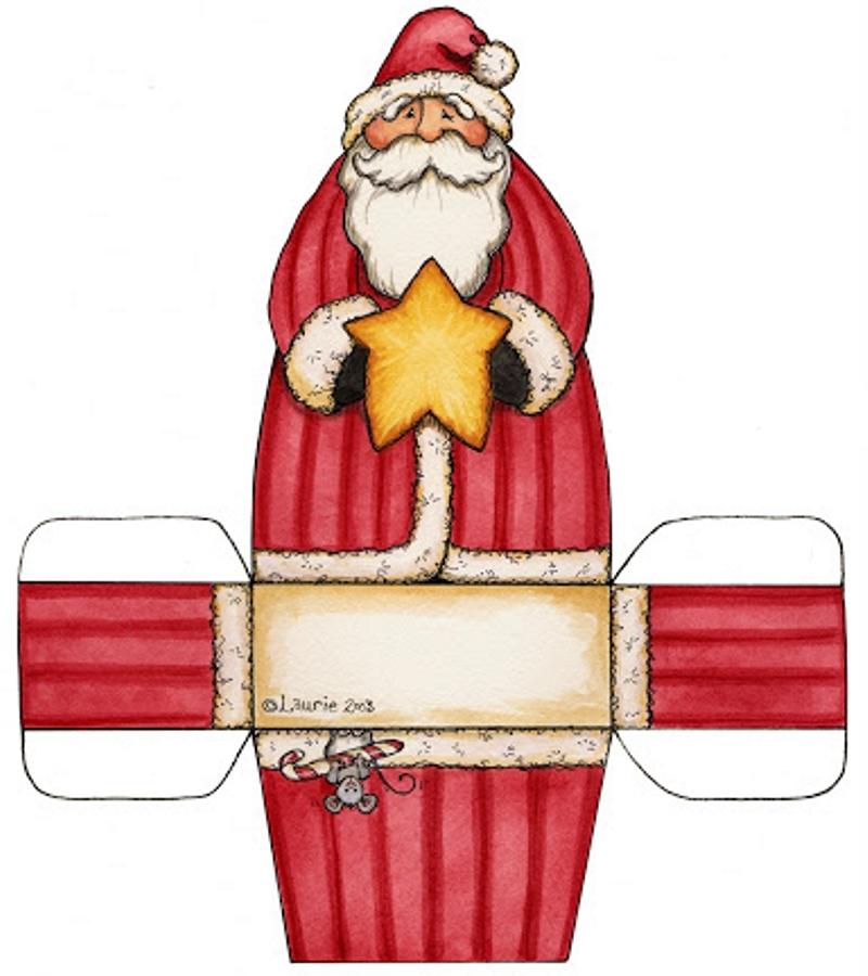 Dibujos y plantillas para imprimir cajas de navidad for In regalo gratis