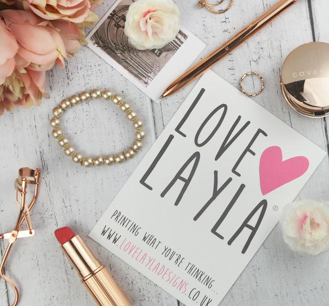 Love Layla Designs - Steak & Blowjob Day Greetings Card Review | Lovelaughslipstick Blog