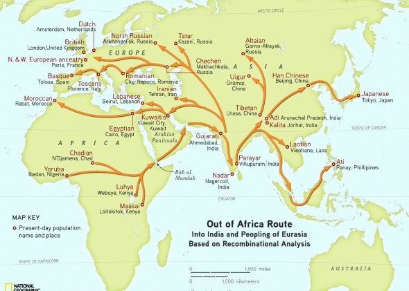 Out Of Africa Theory Map.Rj S R2 Blog Out Of India After Africa Nat Geo Now