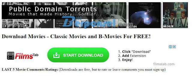 Situs Download Film Movie Legal, gratis dan Terpopuler