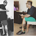 Olamide Gets His First Tattoo (Photos)