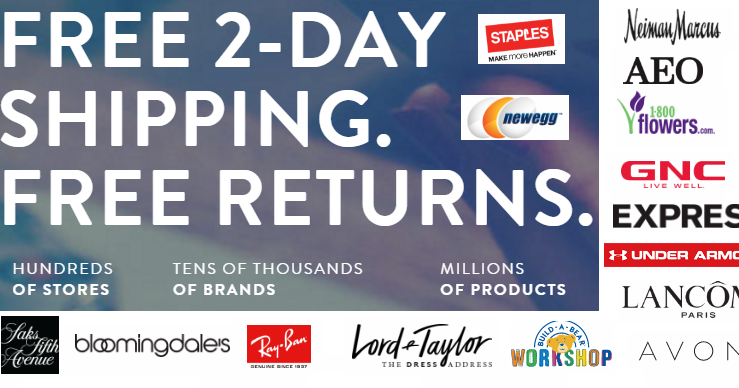 ShopRunner members enjoy unlimited free 2 day shipping, free return shipping, exclusive deals, and much more. Activate your day trial today.