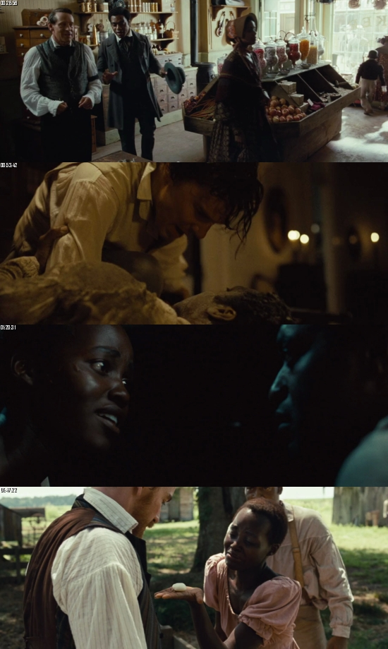 12 Years A Slave 2013 Dual Audio Hindi 720p BluRay 1.1GB