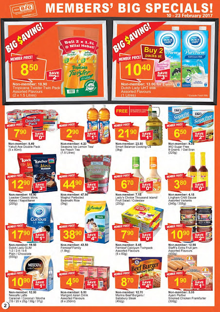 AEON BiG Members' Big Specials Discount Promotion Catalogue