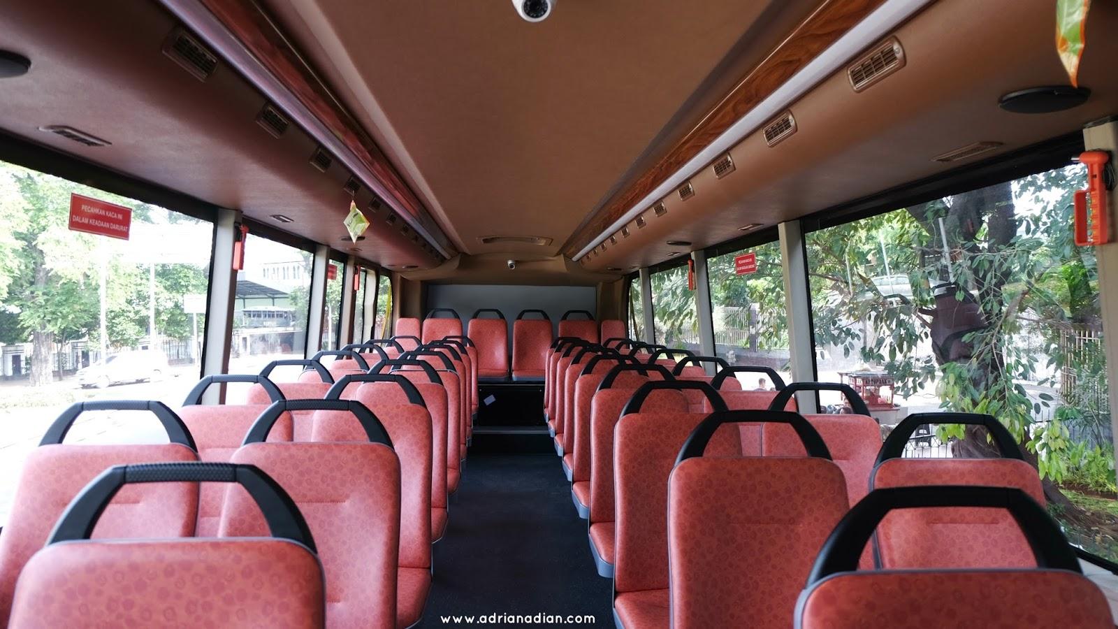 Jalan-jalan naik Bis Tingkat Jakarta