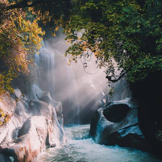 Biaya Masuk dan Lokasi Air Terjun Nyarai Padang Pariaman Sumbar