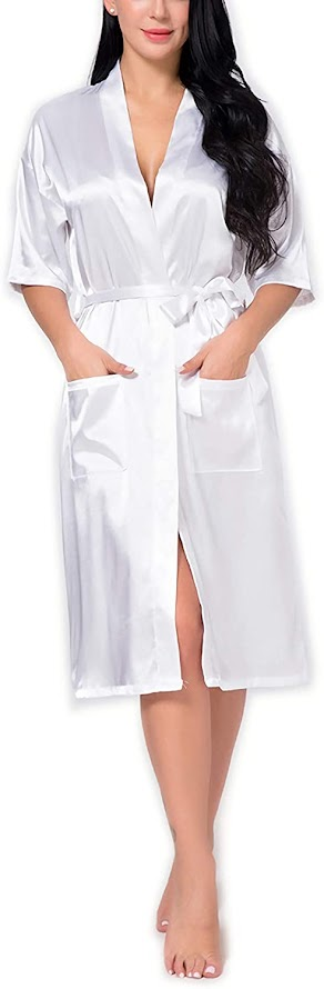 Satin Robes For Bride or Bridesmaids