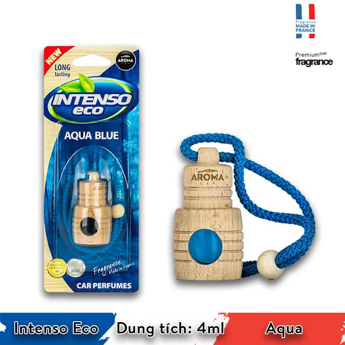 Tinh dầu treo xe Aroma Car Intenso Eco 4ml - Aqua Blue