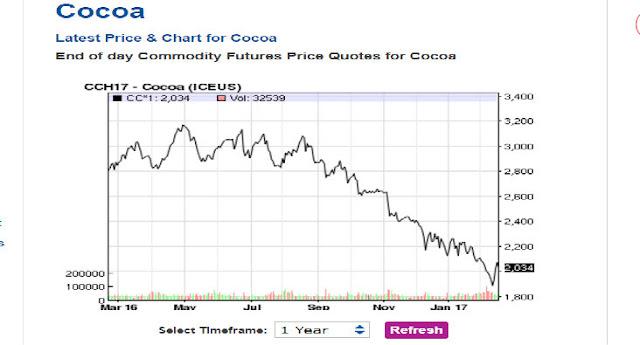 Investire in cacao oggi 2017, conviene?