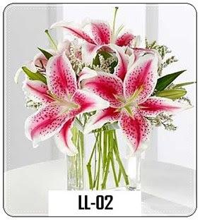 Bunga Meja Lili Tebet