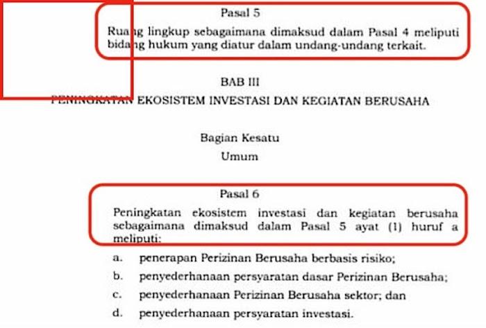 UU Cipta Kerja Sudah Diteken Jokowi dan Dinomori, tetapi Masih Ada Typo Kek Gini