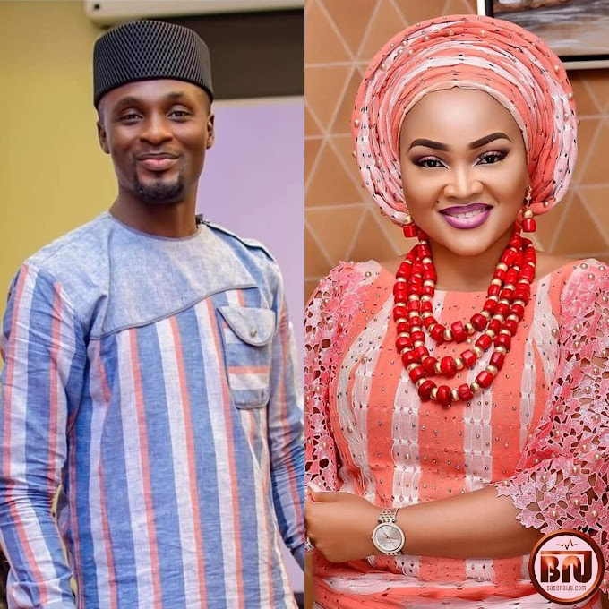 """""""I Kissed Mercy Aigbe On Set And That Changed My Career"""" - Actor, Adeniyi Johnson"""