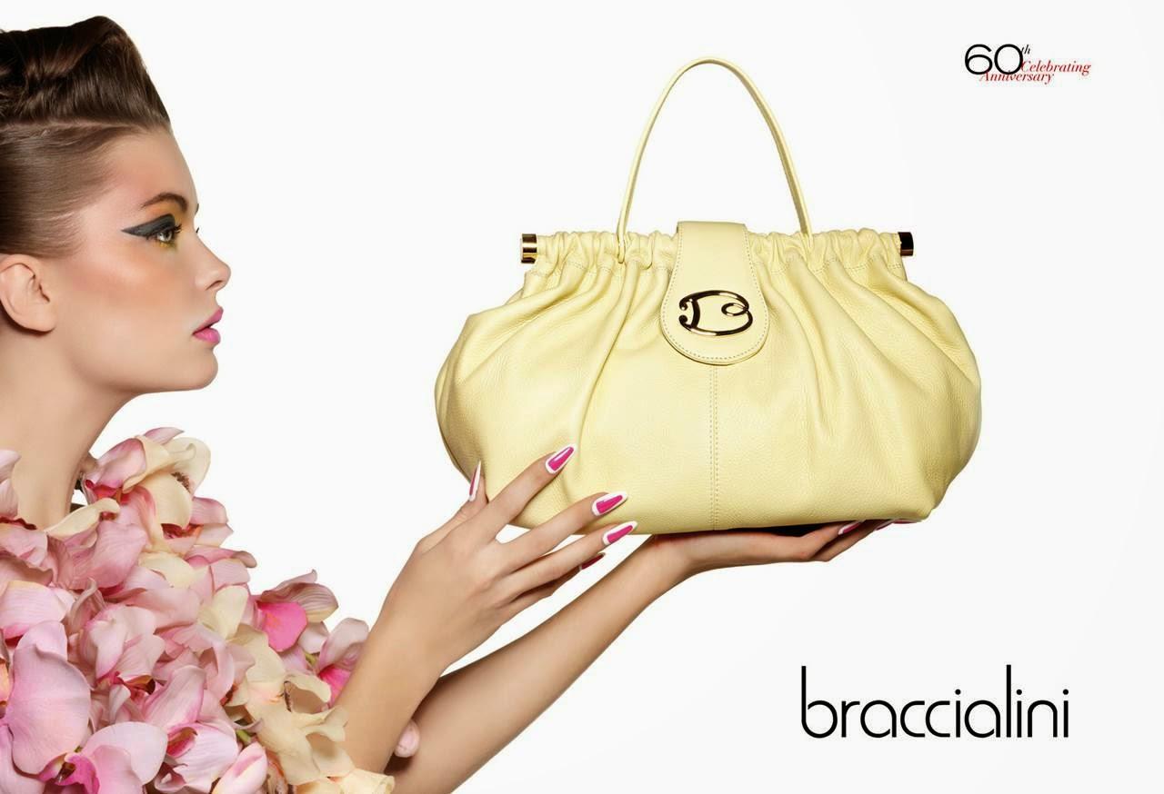 a64e794a3e7e Braccialini Handbags Spring/Summer 2014 Campaign
