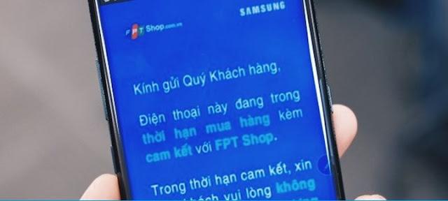 Thêm 1 giải pháp cho máy Samsung dính F.KNOX