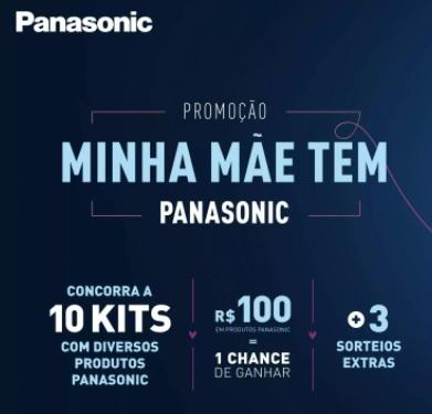 Cadastrar Promoção Panasonic 2021 Mês das Mães Minha Mãe Tem