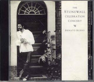 Renato Russo - The Stonewall Celebration Concert CD Capa