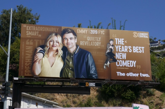 Other Two season 1 Emmy consideration billboard