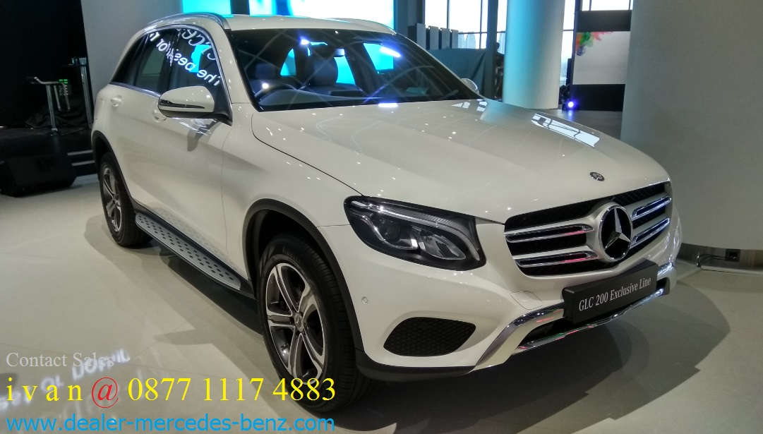 Harga spesifikasi mercedes benz glc class 2017 dealer for Dealer mercedes benz