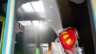 TK Mawar Pertiwi Desa Besole Bayan Alami Kebakaran