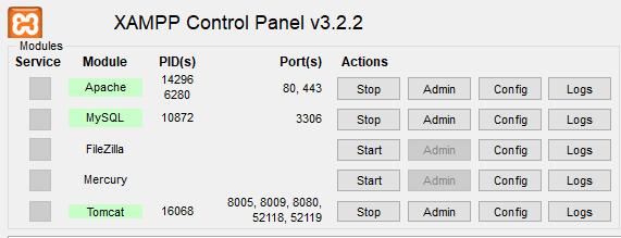 Run Project in XAMPP server