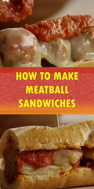 HOW TO MAKE MEATBALL SANDWICHES