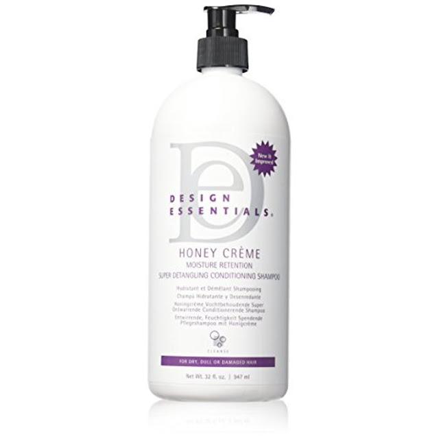 Design Essentials - Honey Creme -  Moisture - Retention Super Detangling  - Conditioning  - Shampoo