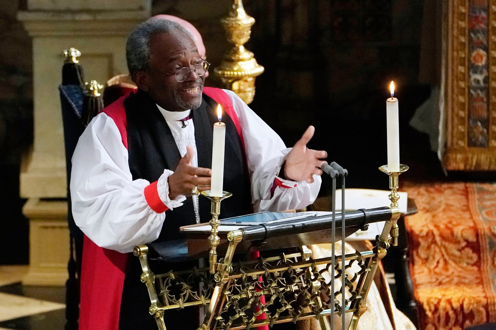 Harry & Megan's Wedding Sermon - Preacher Michael Curry