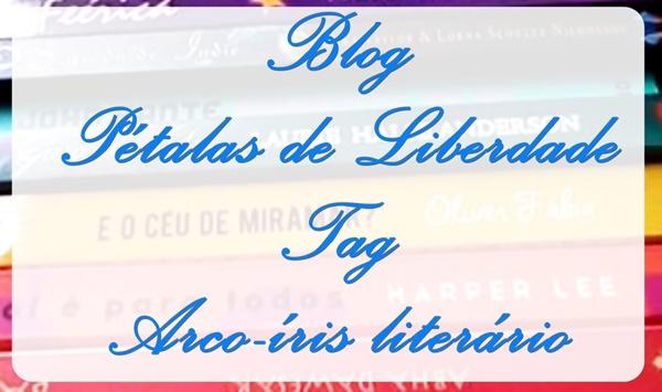 Tag, Arco-íris-literário, vídeo, blog, livros